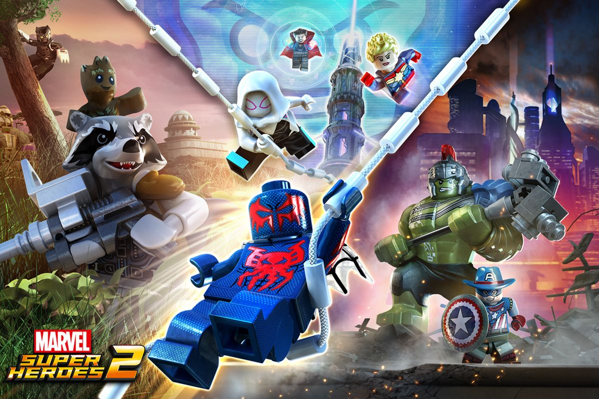 Marvel LEGO Super Heroes 2 is out today