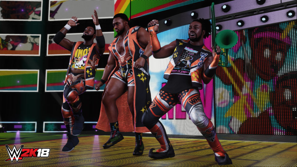More superstars are added to the WWE 2K18 roster.