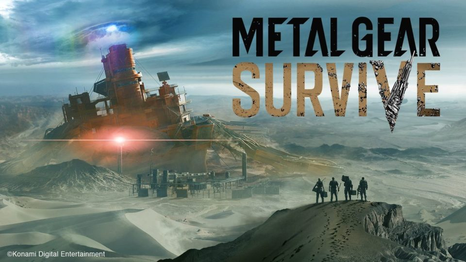 Get ready for METAL GEAR SURVIVE.