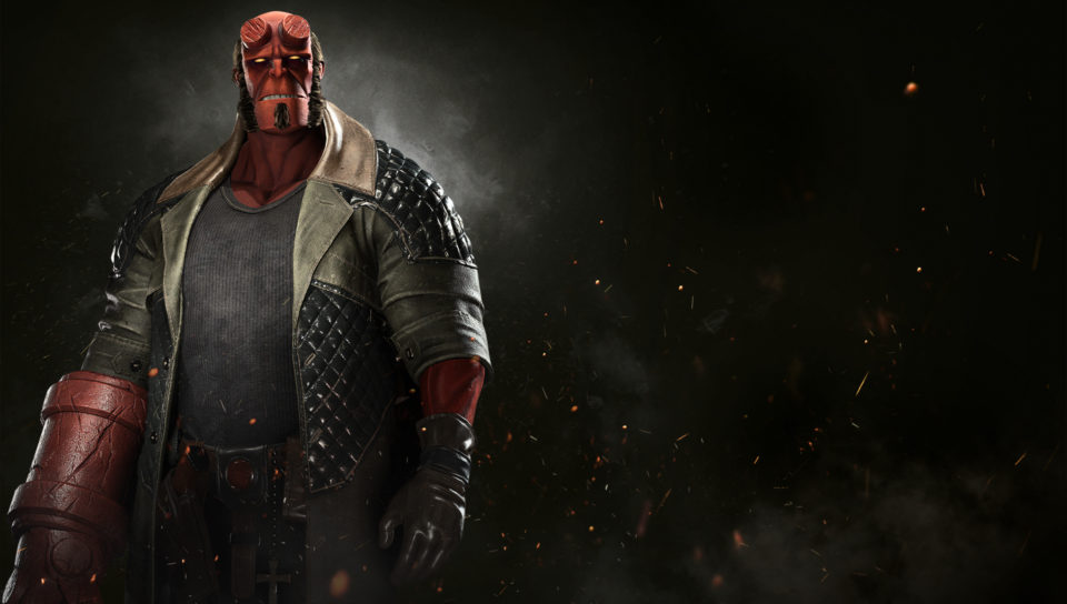 Hellboy is coming to Injustice 2.