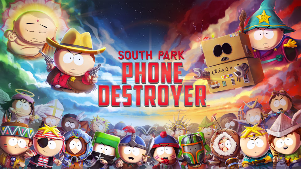 South Park is coming to your phone.