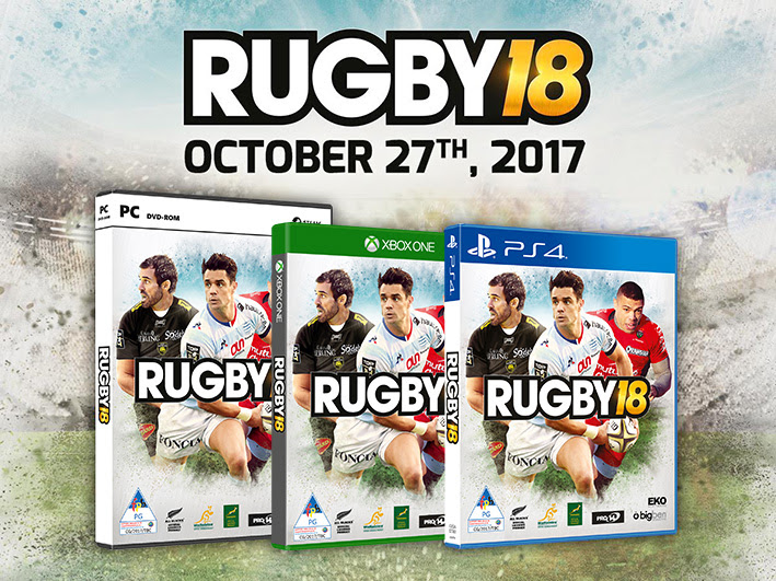 Play as the British & Irish Lions in RUGBY 18.