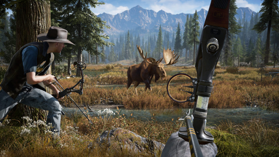 Far Cry 5 promises to be real good when playing with friends.