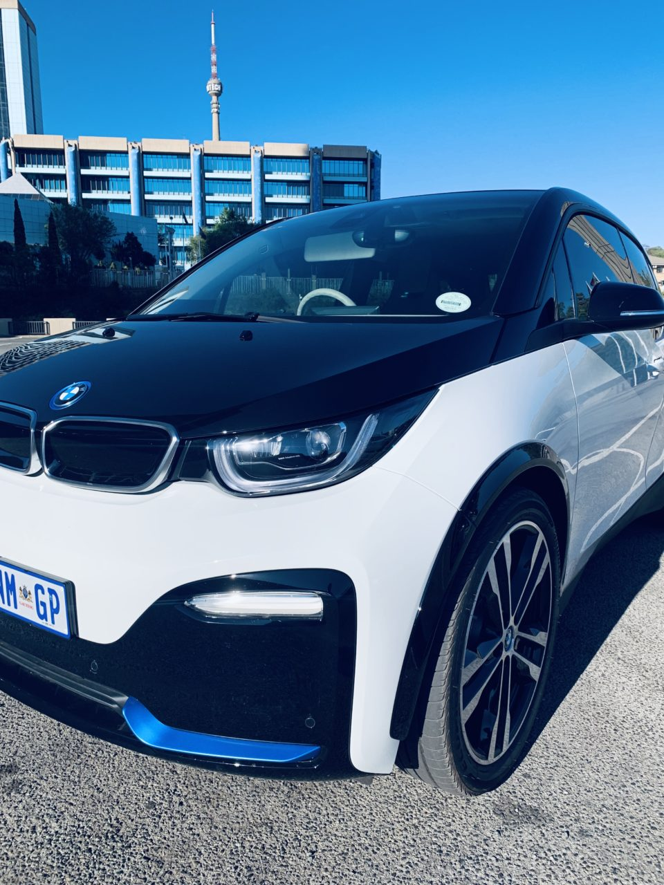 The BMW i3s, First world car, in a third world country.